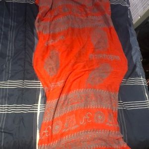 Orange/Red Hindu Scarf.